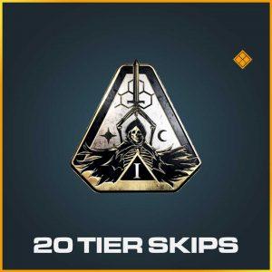 20 Tier Battle Pass Season 1 COD Modern Warfare