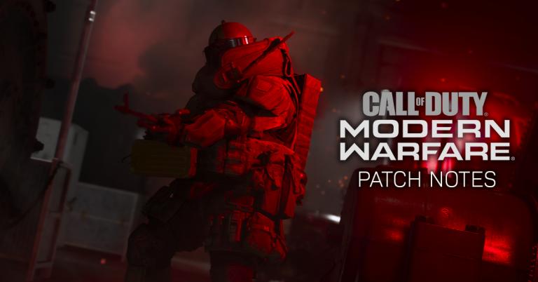 18 December 2019 – CoD Modern Warfare Patch Notes