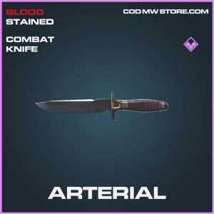 Arterial epic combat knife call of duty modern warfare item