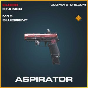 Spirator legendary skin m19 blueprint call of duty modern warfare