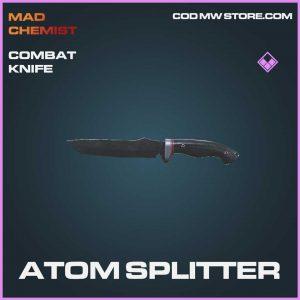 Atom Splitter Epic combat knife call of duty modern warfare skin