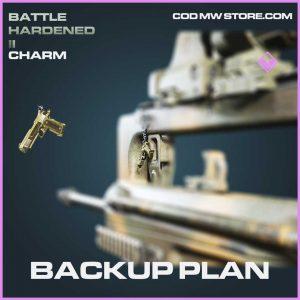 Backup Plan epic charm call of duty modern warfaren item