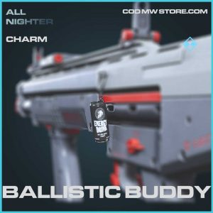 Ballistic Buddy charm rare call of duty modern warfare item