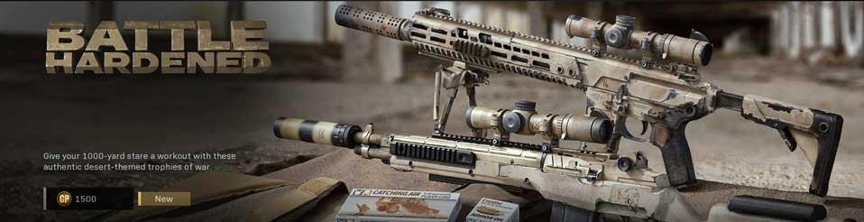 Battle Hardened blueprints call of duty modern warfare item bundle