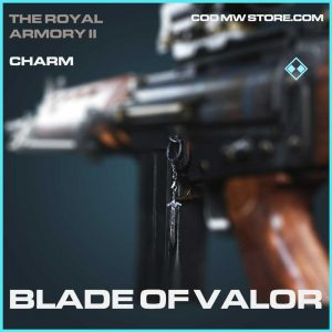 Blade of Valor Rare charm Call of Duty Modern Warfare Item