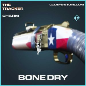 Bone Dry Rare charm call of duty modern warefare item