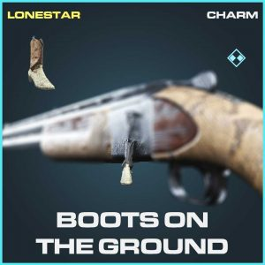 Boots on the Ground charm rare Call of Duty Modern Warfare