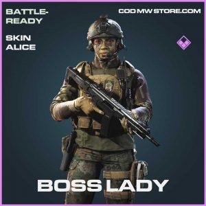 Boss Lady Alice Epic Skin Call of Duty Modern Warfare Item