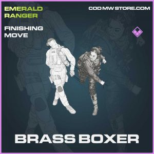 Brass Boxer Epic Finishing Move Call of Duty Modern Warfare Item