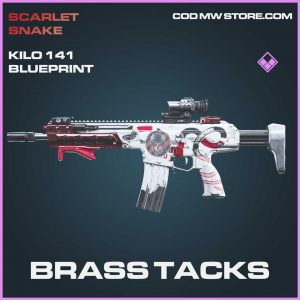 Brass Tacks Kilo 141 skin blueprint call of duty modern warfare item