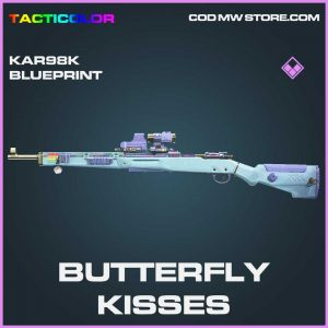 Butterfly kisses Kar98k skin epic blueprint call of duty modern warfare item