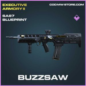 Buzzsaw SA87 Epic Blueprint Call of Duty Modern Warfare Item