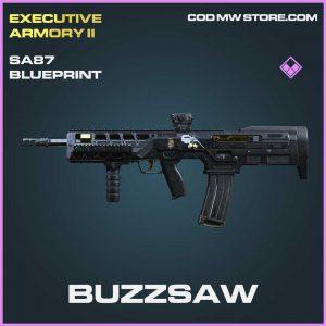 Buzzsaw SA87 Epic Blueprint Call of Duty Modern Warfare Item
