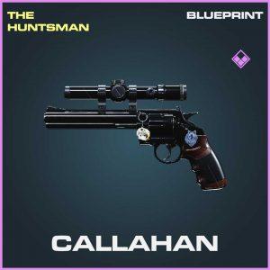 Callahan Handgun Blueprint Call of Duty Modern Warfare skin