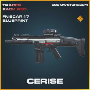 Cerise FN Scar 17 legendary skin call of duty modern warfare