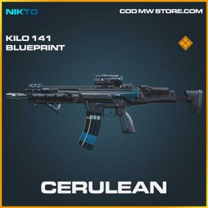 Cerulean kilo 141 legendary blueprint call of duty modern warfare