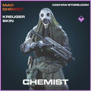 Chemist Kreuger skin epic call of duty modern warfare