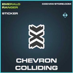Chevron Colliding raer sticker Call of Duty Modern Warfare Item
