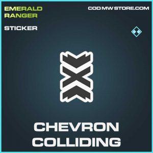 Chevron Colliding raer sticker Call of Duty Modern Warfare Item