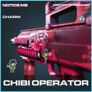 Chibi Operator rare charm notice me bundle Call of Duty Modern Warfare item