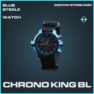 Chrono King Bl rare watch call of duty modern warfare item