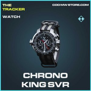Chorno King SVR watch rare Call of duty modern warfare item