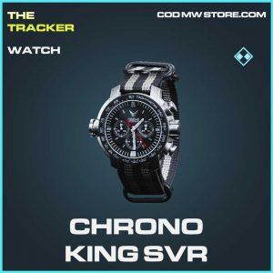 Chorno King SVR watch rare Call of duty modern warfare item