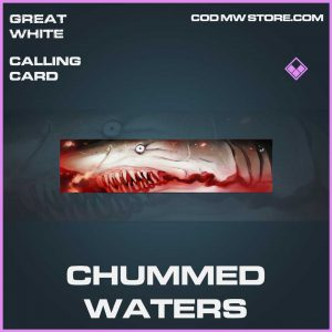 Chummed Waters Epic Calling Card blueprint call of duty modern warfaren item