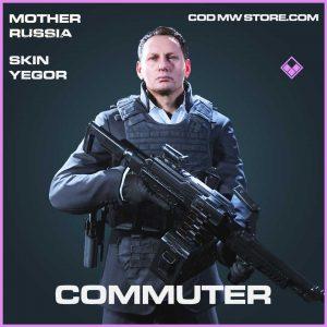 Commuter epic yegor skin call of duty modern warfare mother russia skin