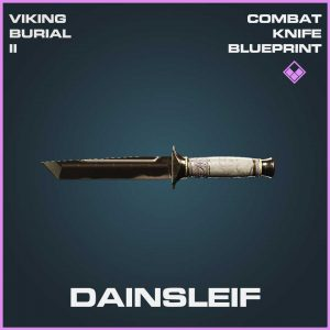 Dainsleif Combat Melee Knife Epic Blueprint Call of Duty Modern Warfare