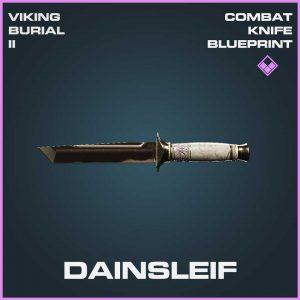 Dainsleif Combat Melee Knife Epic Blueprint Call of Duty Modern Warfare