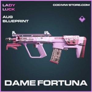 Dame Fortuna Epic AUG blueprints call of duty modern warfare skin