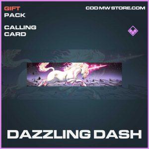 Dazzling Dash  call of duty Modern Warfare Epic Calling card