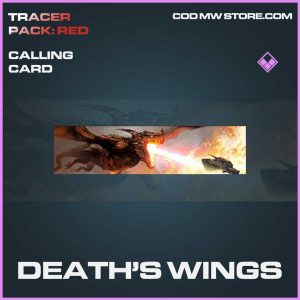 Death's Wings epic calling card call of duty modern warfare item