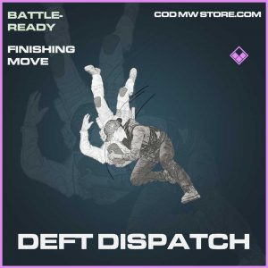 Deft Dispatch Epic Finishing Move Call of Duty Modern Warfare Item