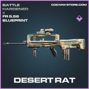 dsert rat fr5.56 blueprint epic call of duty modern warfaren item
