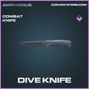 dive knife combat knife epic Call of duty modern warfare