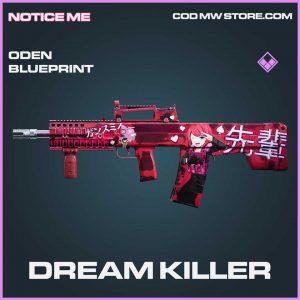 Dream killer epic oden blueprint Call of Duty Modern Warfare item