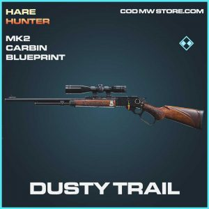 dusty trail mk2 crabin blueprint rare call of duty modern warfare skin