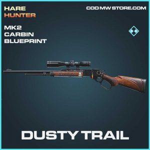 dusty trail mk2 crabin blueprint rare call of duty modern warfare skin