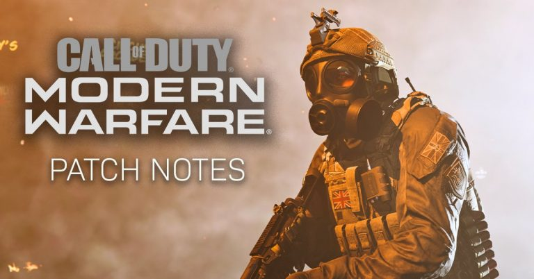 6 December 2019 – Call of Duty Patch Notes