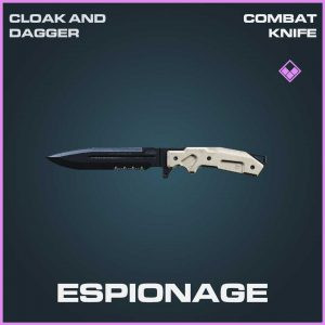 Espionage combat knife epic Call of Duty Modern Warfare Item