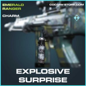Explosive Surprise rare charm Call of Duty Modern Warfare Item