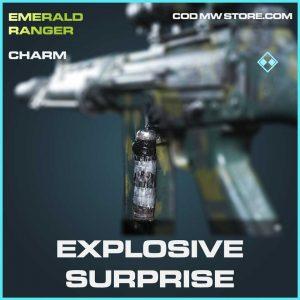 Explosive Surprise rare charm Call of Duty Modern Warfare Item