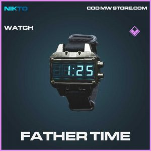 father time watch epic call of duty modern warfare item