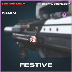Festive charm epic call of duty modern warfare item