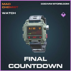 Final countdown watch epic call of duty modern warfare item