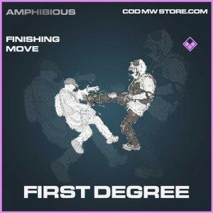 first degree finishing move epic Call of duty modern warfare