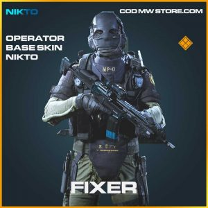 Fixer operator base skin nikto legendary call of duty modern warfare skin