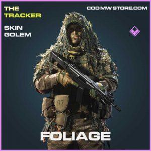 foliage epic golem skin Call of duty modern warfare item